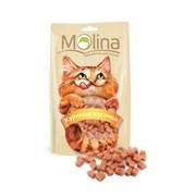 """Molina - Лакомство для кошек """"Куриные кусочки"""""""