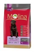 Molina - Сухой корм для взрослых собак крупных пород Adult Maxi