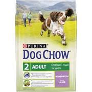 Purina Dog Chow - Сухой корм для взрослых собак старше 9 лет (с ягненком)