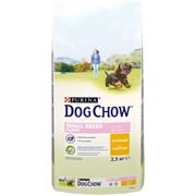 Purina Dog Chow - Сухой корм для щенков мелких пород до 1 года (с курицей)