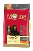 Molina - Сухой корм для взрослых собак мелких пород Adult Mini