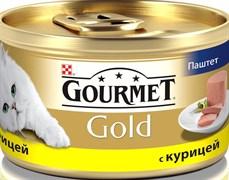 Purina Gourmet - Влажный корм для кошек (Паштет из курицы) Gold