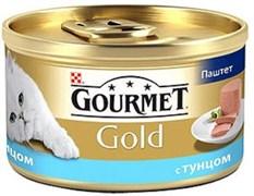 Purina Gourmet - Влажный корм для кошек (Паштет из тунца) Gold