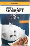 Purina Gourmet - Влажный корм для кошек (с курицей) Perle