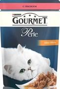 Purina Gourmet - Влажный корм для кошек (с лососем) Perle