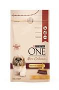 """Purina ONE - Сухой корм для собак мелких пород """"Моя Собака…Любитель поесть"""" (с индейкой и рисом)"""