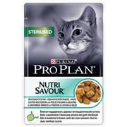 Purina Pro Plan - Влажный корм для взрослых стерилизованных кошек и кастрированных котов (с океанической рыбой)