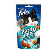 Purina Felix - Лакомство для кошек (с лососем, треской и форелью) Party Mix