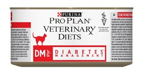 Purina Pro Plan - Консервы для кошек при диабете Veterinary diets DM