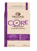 Wellness Core - Сухой беззерновой корм для котят (с индейкой и лососем) Kitten