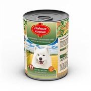 """Родные Корма - Консервы для собак """"Баранина с потрошками в желе по-восточному"""""""