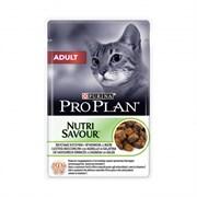 Purina Pro Plan - Влажный корм для взрослых кошек (с ягненком)