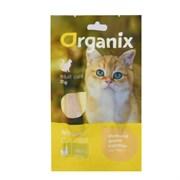 """Organix - Лакомство для кошек """"Нежное филе курицы, приготовленное на пару"""" 100% мясо Tender steamed chicken fillet"""