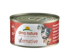 "Almo Nature Alternative - Консервы для кошек ""Ветчина и индейка"" HFC CATS HAM AND TURKEY"