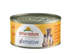 "Almo Nature Alternative - Консервы для собак ""Курица гриль"" 55% мяса HFC DOGS GRILLED CHICKEN"