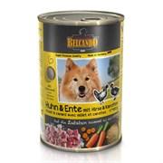 Belcando - Консервы для собак (с курицей, уткой, пшеном и морковью)