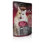 Leonardo - Паучи для взрослых кошек (с говядиной) Finest Selection Pure Beef