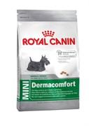 Royal Canin - Сухой корм для собак мелких пород для кожи и шерсти MINI DERMACOMFORT