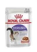 Royal Canin - Паучи для стерилизованных кошек (в соусе) STERILISED