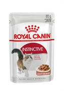 Royal Canin - Паучи для взрослых кошек (в соусе) INSTINCTIVE