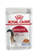 Royal Canin - Паучи для взрослых кошек (в желе) INSTINCTIVE