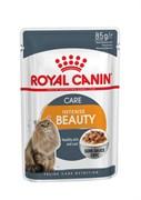 Royal Canin - Паучи для взрослых кошек для кожи и шерсти (в соусе) INTENSE BEAUTY