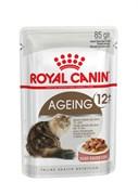 Royal Canin - Паучи для кошек старше 12 лет (в соусе) AGEING +12