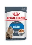 Royal Canin - Паучи для кошек, склонных к полноте (в желе) ULTRA LIGHT
