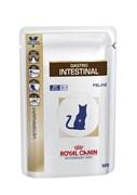 Royal Canin (вет. диета) - Паучи для кошек при нарушении пищеварения GASTRO INTESTINAL
