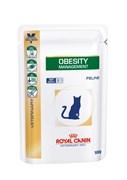 Royal Canin (вет. диета) - Паучи для кошек с избыточным весом Obesity Management