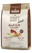 Bosch - Полнорационный корм для собак (с уткой и картофелем) Soft
