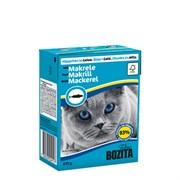 BOZITA - Консервы для кошек (кусочки в желе со скумбрией) Feline Makerel Tetra Pak
