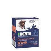 BOZITA - Консервы для собак (кусочки лосося в желе) Salmon