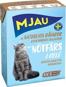 Mjau - Консервы для кошек (кусочки в желе с рубленой говядиной) Tetra Recart