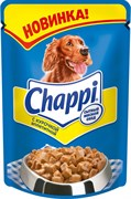 "Chappi - Паучи для собак ""Курочка аппетитная"""