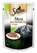 Sheba - Паучи для кошек (Мини порция с уткой)